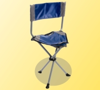 Portable Chair with Backrest